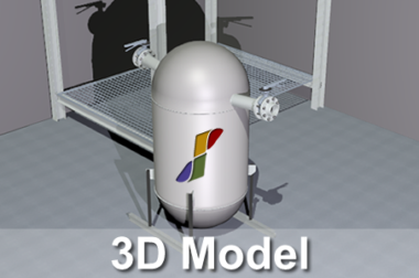 Behälterbau / Deckel 3D Model